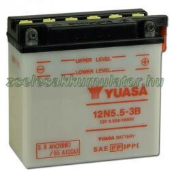 YUASA 12V 5.5Ah jobb 12N5.5-3B