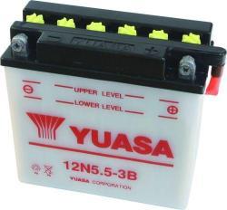 YUASA 12V 5.5Ah jobb 12N5.5A-3B