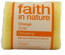 Faith in Nature Narancs szappan (100 g)