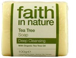 Faith in Nature Bio teafa szappan (100 g)