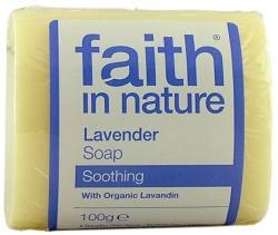 Faith in Nature Bio levendula szappan (100 g)