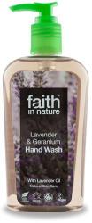 Faith in Nature Bio levendula és geránium folyékony kézmosó (300 ml)