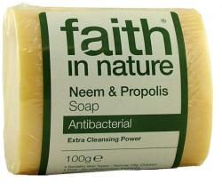 Faith in Nature Neem fa és propolisz szappan (100 g)