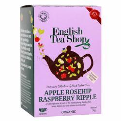 English Tea Shop Alma Csipkebogyó Málnafodrokkal 20 filter