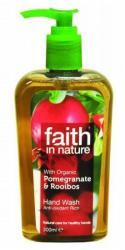 Faith in Nature Bio gránátalma és rooibos folyékony kézmosó (300 ml)
