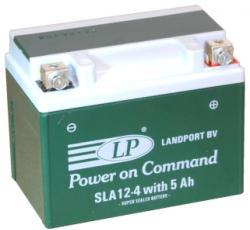 Landport AGM 12V 5Ah jobb SLA12-4W5