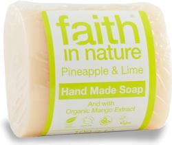 Faith in Nature Ananász-lime szappan (100 g)