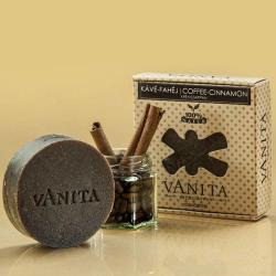Vanita Kávé-fahéj egzotikus krémszappan (90 g)