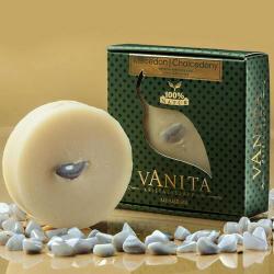 Vanita Kalcedon tartalmú krémszappan levendula illó olajjal (90 g)