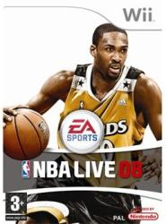 Electronic Arts NBA Live 08 (Wii)