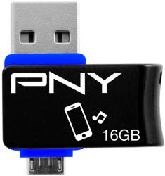 PNY Duo-Link On-The-Go 16GB USB 2.0 FDI16GOTGOU1K-EF
