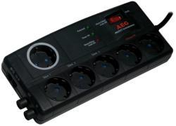 AEG Protect Entertainment 6 Plug + TV Switch (6000007745)