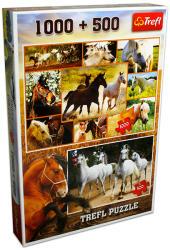 Trefl Vágtázó lovak 1000 és 500 db-os (CTW-90422)