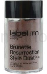 Label. m Brunette Resurrection Hajpúder 3.5g