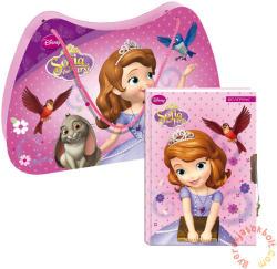 Szófia hercegnő kulcsos napló karton táskában (322475)