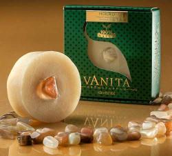 Vanita Holdkő tartalmú krémszappan geránium olajjal (90 g)