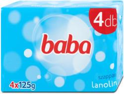 Baba Lanolinos szappan csomag (4x125 g)