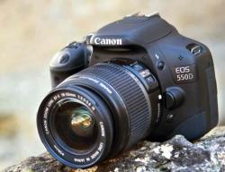 Canon EOS 550D + 18-55mm IS (AC4463B006AA)