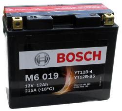 Bosch M6 AGM 12V 12Ah Bal YT12B-4/YT12B-BS 0092M60190