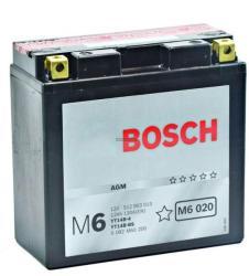 Bosch M6 AGM 12V 12Ah Bal YT14B-4/YT14B-BS 0092M60200
