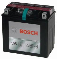 Bosch M6 AGM 12V 12Ah Bal YTX14-BS 0092M60180