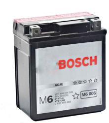 Bosch M6 AGM 12V 6Ah Jobb YTX7L-BS/YTX7L-4 0092M60060