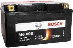 Bosch M6 AGM 12V 7Ah Bal YT7B-4/YT7B-BS 0092M60080