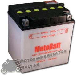 MotoBatt 12V 30Ah jobb YB30L-B