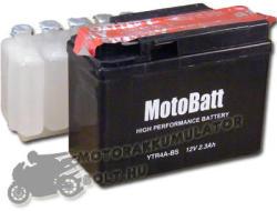 MotoBatt 12V 2.3Ah bal YTR4A-BS