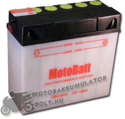 MotoBatt BMW 12V 19Ah jobb 12N19AH