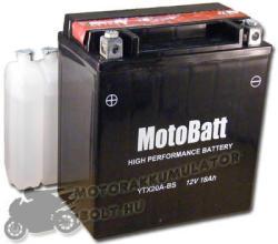 MotoBatt 12V 18Ah bal YTX20A-BS