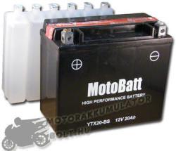 MotoBatt 12V 18Ah bal YTX20-BS