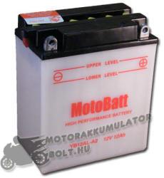 MotoBatt 12V 12Ah bal YB12B-B2