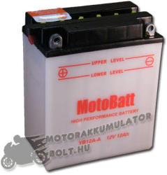 MotoBatt 12V 12Ah bal YB12A-A