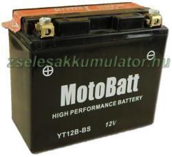 MotoBatt 12V 11Ah bal YT12B-4