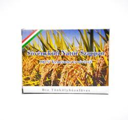 Sövénykúti Bio tönkölybúzafüves natúr szappan (100 g)