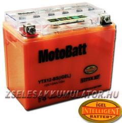 MotoBatt I-GEL 12V 10Ah bal YTX12-BS