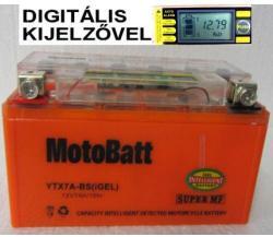 MotoBatt I-GEL 12V 7Ah bal YTX7A-BS