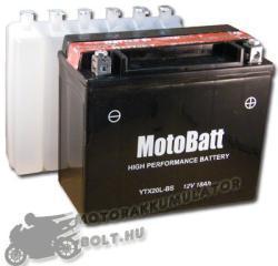 MotoBatt 12V 18Ah jobb YTX20L-BS