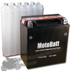 MotoBatt 12V 16Ah bal YTX16-BS