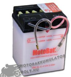 MotoBatt 12V 2.5Ah jobb YB2.5L-C-2
