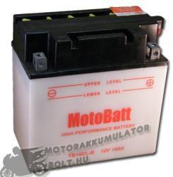MotoBatt 12V 19Ah jobb YB16CL-B