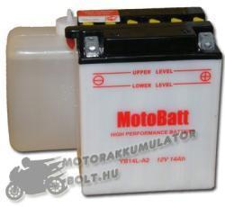 MotoBatt 12V 14Ah jobb YB14L-A2