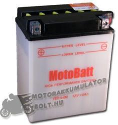 MotoBatt 12V 14Ah bal YB14-B2