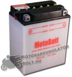 MotoBatt 12V 14Ah bal YB14-A2