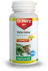 Dr. Herz Valeriana+komló+golgotavirág kapszula - 60db