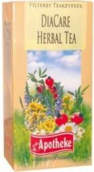 Apotheke Diacare Herbal Tea 20 filter