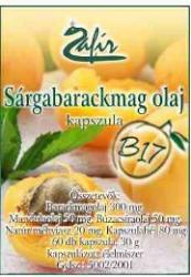 Zafír Sárgabarackmag olaj kapszula - 60db