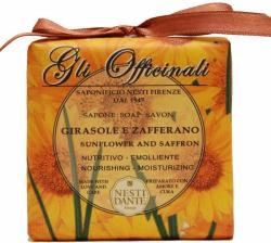 Nesti Dante Gli officinali napraforgó és sáfrány gyógynövényes szappan (200 g)