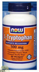 NOW L-Tryptophan - 60db
